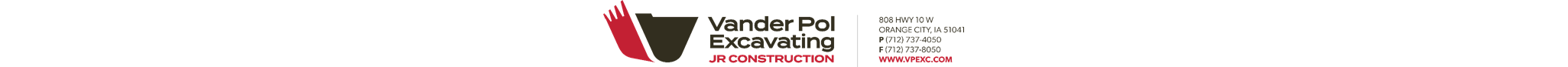 Vander Pol Excavating - Northwest Iowa
